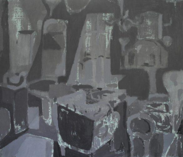 Untitled, 2014, acrylic on canvas, 177x210 cm