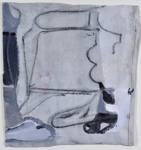Untitled, 2017, acrylic on canvas, 30x30 cm